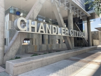 City of Chandler headquarters in downtown Chandler.
