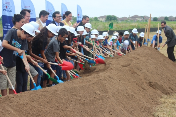 aisd blazier elementary school groundbreaking