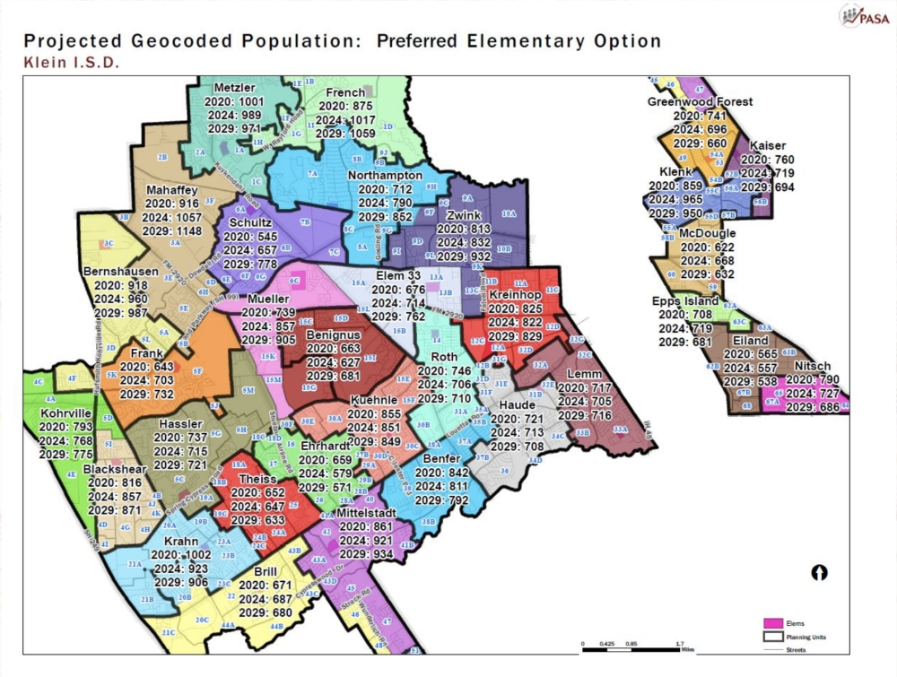 Preferred Zoning Option Klein ISD