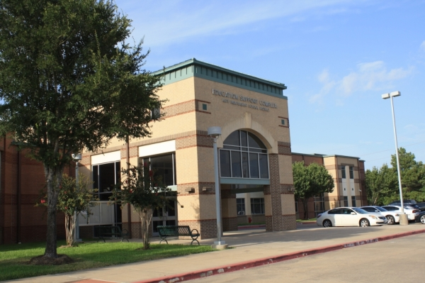 The Katy ISD board of trustees host monthly meetings at the KISD Education Support Complex