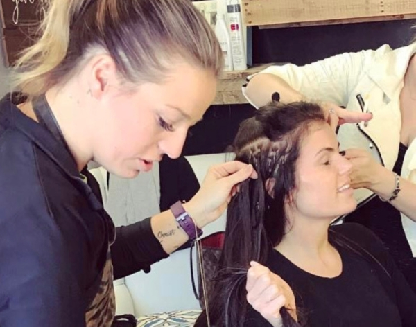 stylists at downtown roots salon & wellness spa