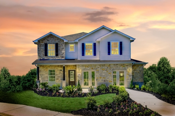 The Concho floor plan features four bedrooms, three-and-a-half bathrooms and a large family and game room, according to information from CastleRock Communities. (Courtesy CastleRock Communities)