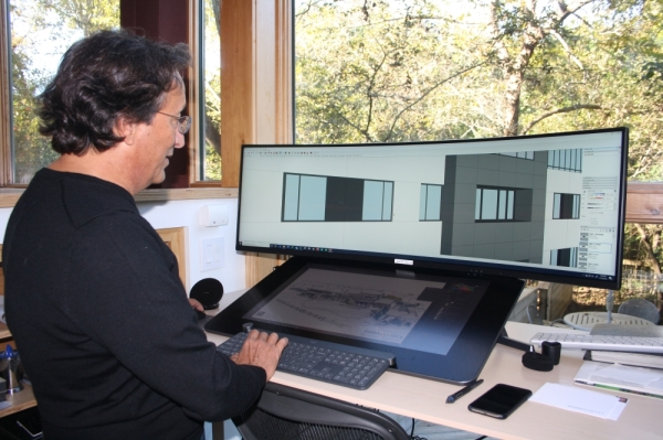Antonio Flamenco, founder of INsite Architecture, has been designing projects in Cypress for just under 20 years. (Shawn Arrajj/Community Impact Newspaper)