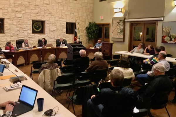 Sunset Valley held a joint council and community and economic development committee meeting Dec. 17. (Nicholas Cicale/Community Impact Newspaper)