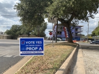 vote yes proposition a engage the expo november election yard sign