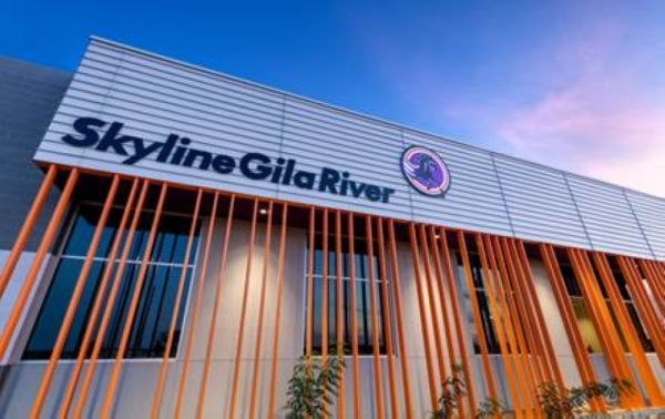 The Skyline Gila River school serves students in grades five through 12. (Courtesy LGE Design Build)