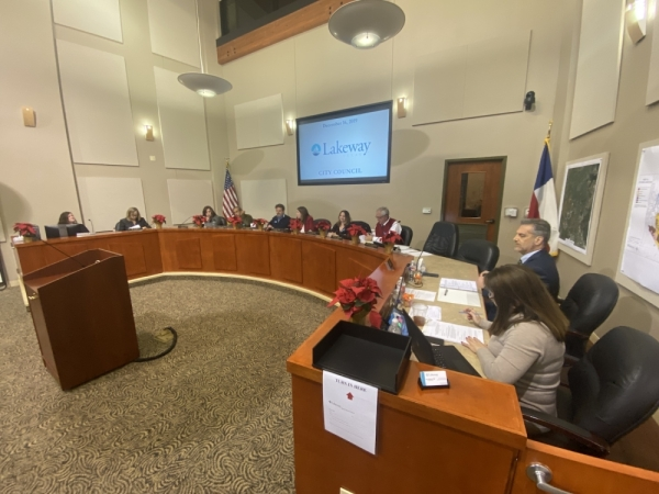 Lakeway City Council took action on several agenda items during the Dec. 16 regular meeting. (Brian Rash/Community Impact Newspaper)