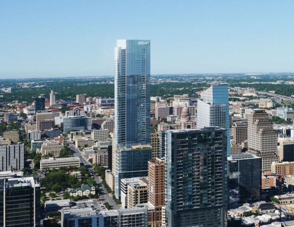Plans were released Dec. 19 for a new tower in downtown Austin that could become the second-tallest building in the city. Rendering courtesy Ryan Companies