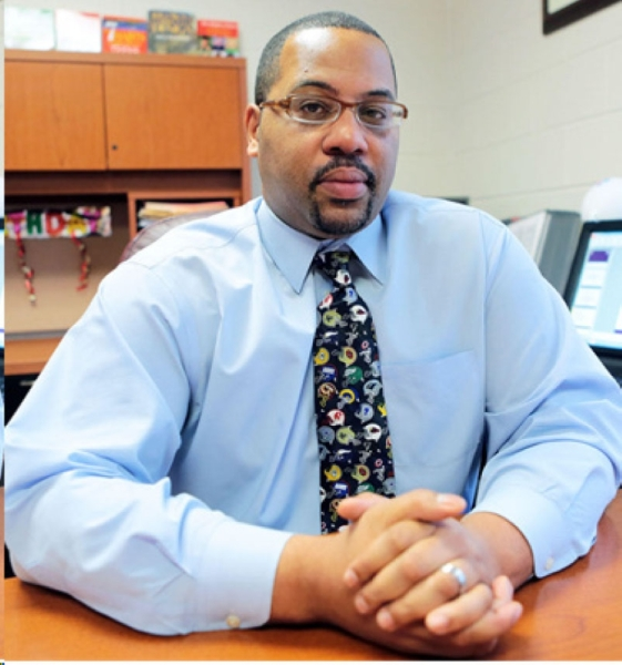 Rodney McGruder will move to Northeast Early College High School in the January semester. He was previously principal at Gus Garcia Young Men's Leadership Academy. Courtesy AISD