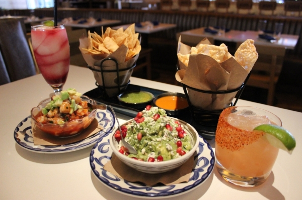 Mexican Bar Co. offers an assortment of traditional Mexican appetizers and margaritas. (Daniel Houston/Community Impact Newspaper)