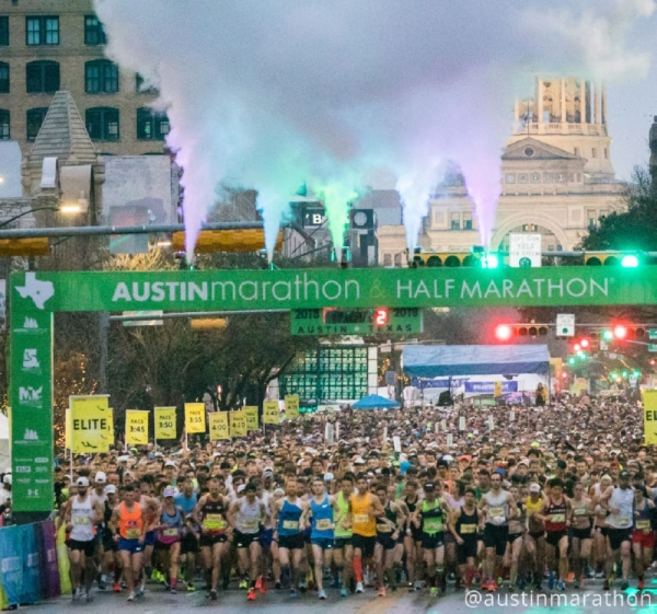 The 3M Half Marathon takes place on Jan. 19 in Austin. Courtesy 3M Half Marathon