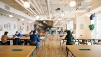 WeWork opened Dec. 12, months before its expected early 2020 opening date, at 6900 N. Dallas Parkway, Plano. (Courtesy WeWork)