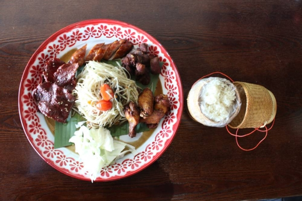 Frisco's Sweet Rice offers a mix of authentic Thai and Lao dishes. (Elizabeth Uclés/Community Impact Newspaper)