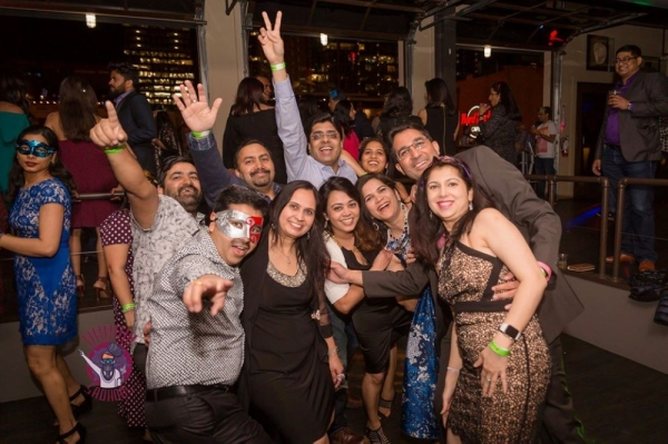 Urban Sadhoos will put on a Bollywood-themed New Year's Eve gala in the Liberty Hall at The Factory at Franklin. (Courtesy Urban Sadhoos)