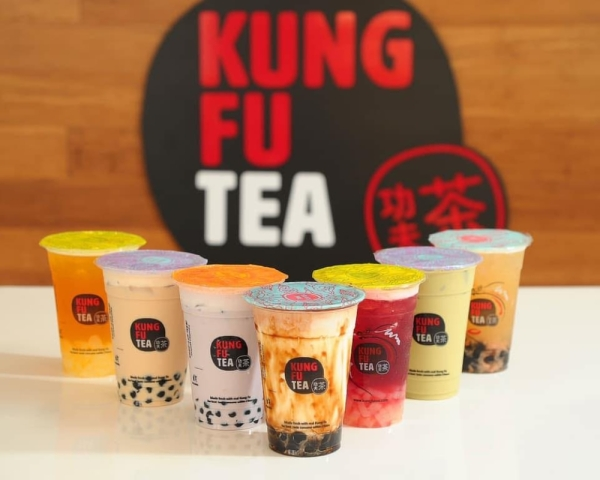 The boba tea retailer is now open on College Park Drive. (Courtesy Kung Fu Tea)