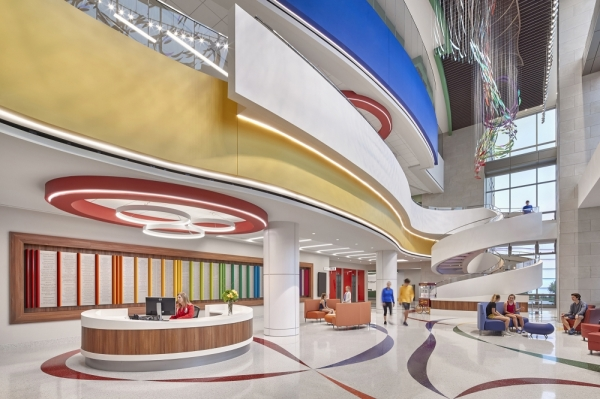 The North Campus of Texas Scottish Rite Hospital for Children won in the Health Care 3 category. (Courtesy TEXO)