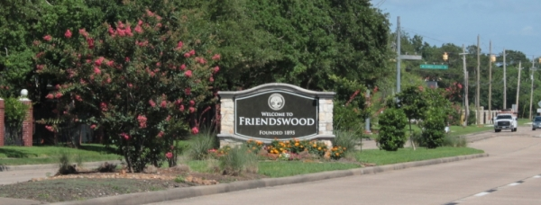 Friendswood sign