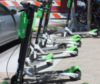 San Marcos City Council may prohibit motorized scooters.  (Emma Freer/Community Impact Newspaper)