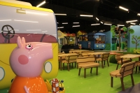 Peppa Pig World of Play at Grapevine Mills mall opened in 2019. (Miranda Jaimes/Community Impact Newspaper)
