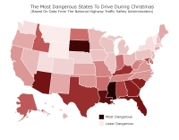 Part Catalog dangerous driving Christmas map