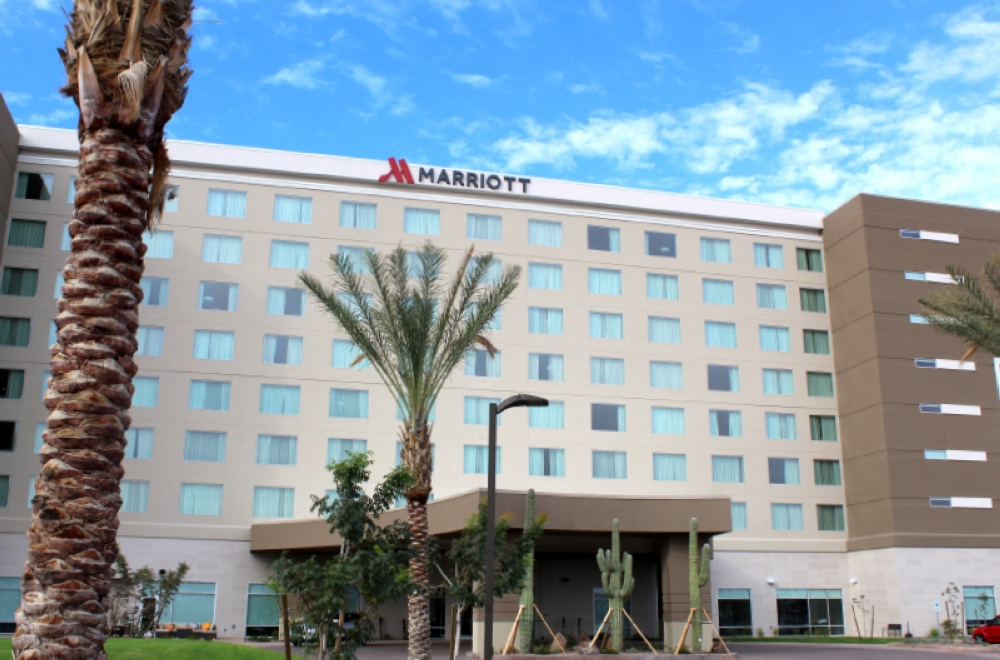 Marriott Phoenix Chandler is the city's latest hotel in the Price Corridor. (Alexa D'Angelo/Community Impact Newspaper)