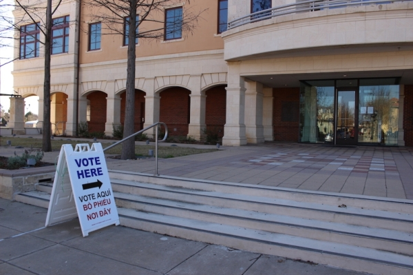 Tarrant County voters will officially be able to cast their votes at any polling place for the March 3 primary election. (Miranda Jaimes/Community Impact Newspaper)