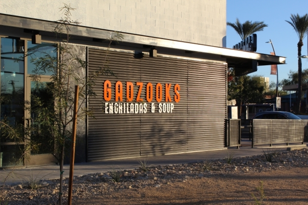 Gadzooks Enchiladas & Soup is now open in downtown Chandler. (Alexa D'Angelo/Community Impact Newspaper)
