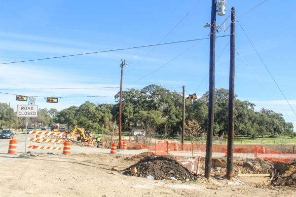Buda's transportation infrastructure is being updated to accomodate a growing population. (Evelin Garcia/Community Impact Newspaper)