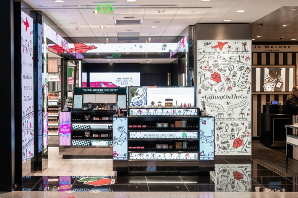 A new cosmetics store has opened at the Dallas-Fort Worth International Airport. (Courtesy Joseph Brewster)