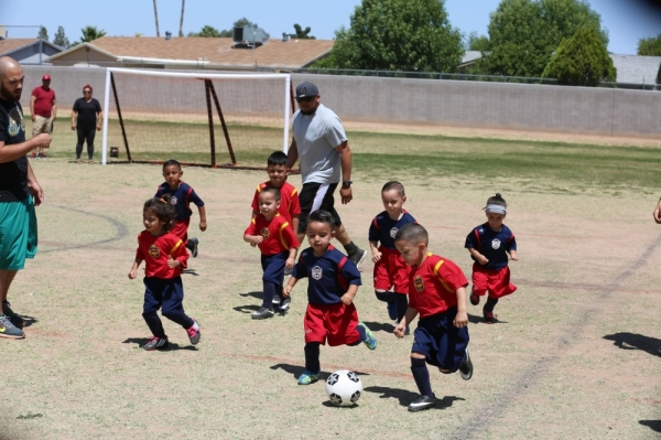 The co-ed league will kick off in March with soccer for children ages 3-15 and flag football for children ages 5-15. (Courtesy One Sports Nation)