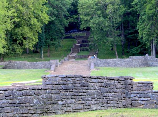 Percy Warner Parks steps