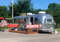 tiny little donuts airstream trailer