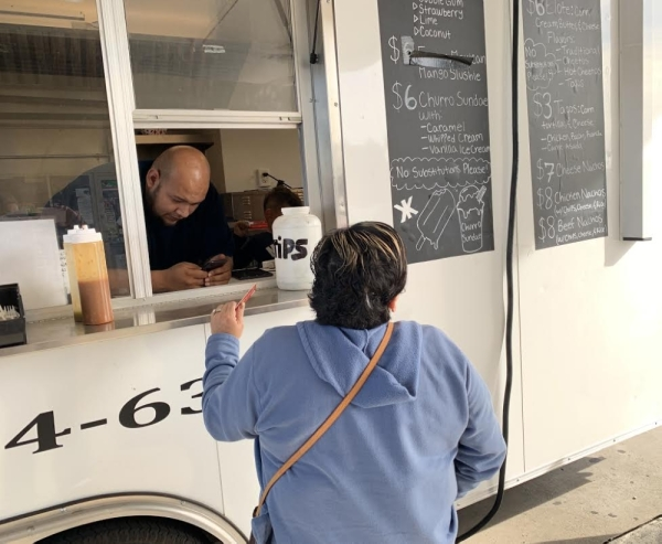 King Kups is a food truck regularly parked behind a McKinney Exxon off of US 75. (Courtesy Jean Ann Collins)