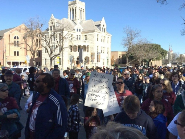 The fifth annual MLK Day March will take place Jan. 20. (Courtesy  New Braunfels MLK Association)