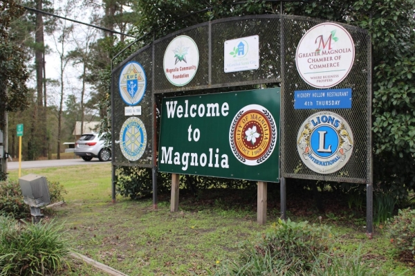 Magnolia City Council members and Mayor Todd Kana named Don Doering as the new city administrator for the city of Magnolia. (Kara McIntyre/Community Impact Newspaper)