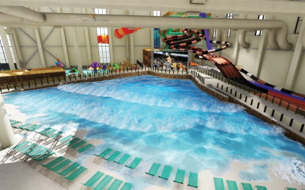 Local residents will be able to enjoy many of the amenities Kalahari Resorts & Conventions will provide in Round Rock. Water park day passes will be available to the general public, based on resort occupancy. (Rendering courtesy Kalahari Resorts & Conventions)