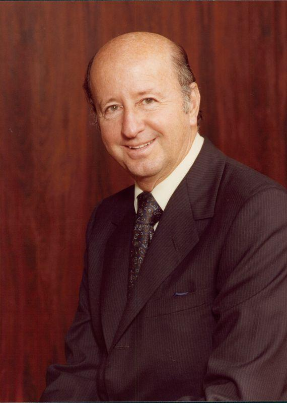 George Mitchell is the founder of The Woodlands. (Courtesy George's Coffee Club)