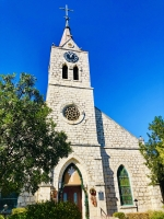 St. Peter and Paul Catholic Church: The first Catholic church in town was known as the Black Walnut Church and stood on the same location as the current limestone church, which was constructed in 1871. The first Catholic Mass held in New Braunfels happened as early as 1846. (Ian Pribanic/Community Impact Newspaper)