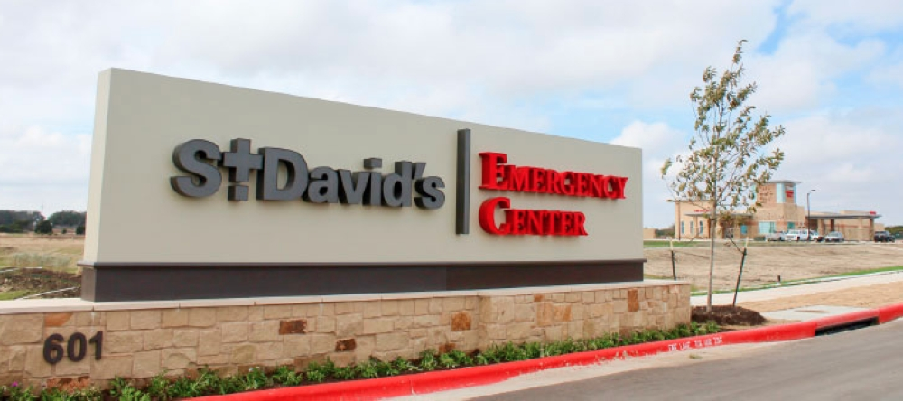 St. David's operates St. David's Emergency Center, at 601 St. David's Loop in Leander, which opened in January 2018. COMMUNITY IMPACT FILE PHOTO