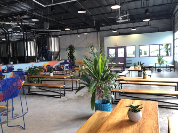Hopsquad Brewing Co. will open in North Austin on Dec. 28 with five core beers on tap. (Courtesy Hopsquad Brewing Co.)