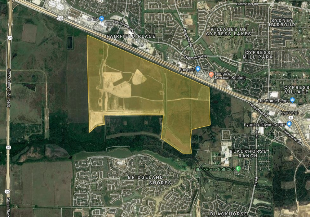 Dunham Pointe is planned for development south of Hwy. 290 around Mason and Mueschke roads.