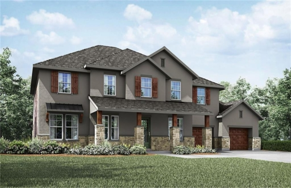 9717 Rocky Creek Blvd. is a 4 bed, 4 bath, 4,266 sq. ft. home selling for $674,900. (Courtesy Drees Custom Homes)