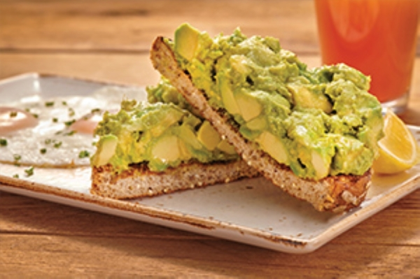 Avocado toast is served at First Watch The Daytime Cafe. (Courtesy First Watch The Daytime Cafe)