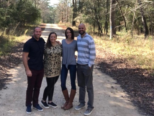 From left: Travis and Leslie Postany and Balie and Carl McKenzie are all co-owners of The Luminaire. (Courtesy Travis Postany/The Luminaire)