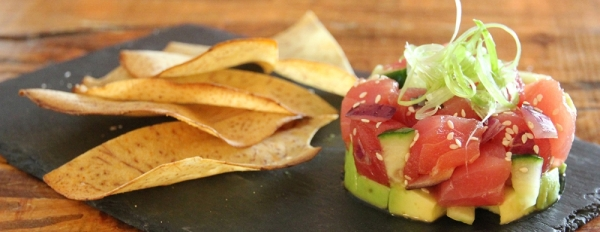A photo of an appetizer from Oasthouse Kitchen   Bar.