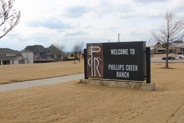 Phillips Creek Ranch is a master-planned community located west of the intersection of Stonebrook and Teel parkways. (William C. Wadsack/Community Impact Newspaper)