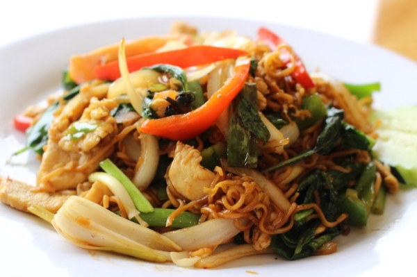 Sabai Sabai Lao and Thai Kitchen opened in 2019. (Renee Yan/Community Impact Newspaper)