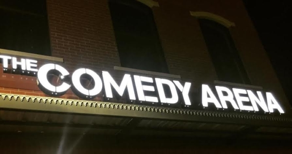 The Comedy Arena is planning to double the size of its current space by expanding into the second floor. (courtesy Comedy Club Arena)