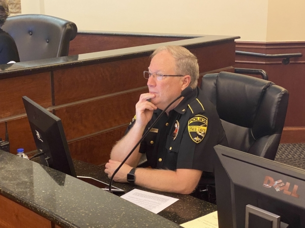 Bee Cave Police Chief Gary Miller said in December he felt a proposed new police facility would be adequate for his department's needs. (Brian Rash/Community Impact Newspaper)
