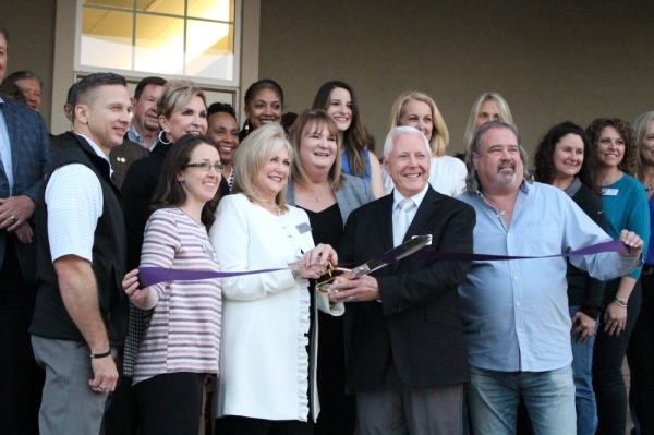 A ribbon-cutting and open house was held Jan. 14 for the Gary and Cynthia Blankenship Business Center, the new addition to the Grapevine Chamber of Commerce. (Renee Yan/Community Impact Newspaper)